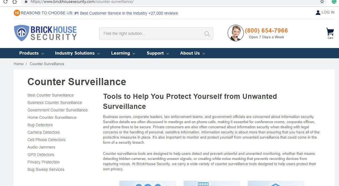 Brickhouse Counter Surveillance