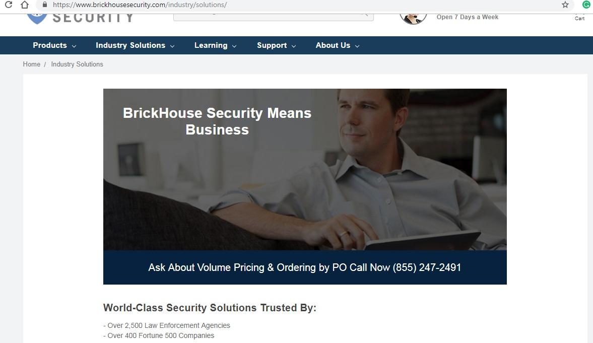 Brickhouse Industry Solution
