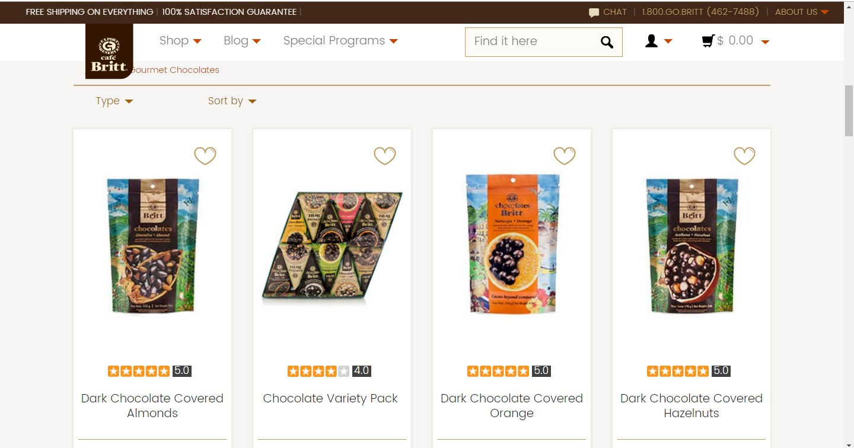 Birtt Cafe Gourmet  Chocolate