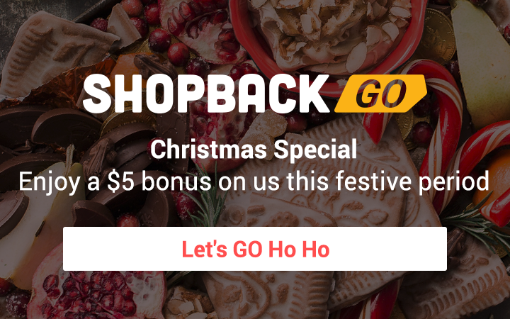 ShopBack GO Welcome Bonus