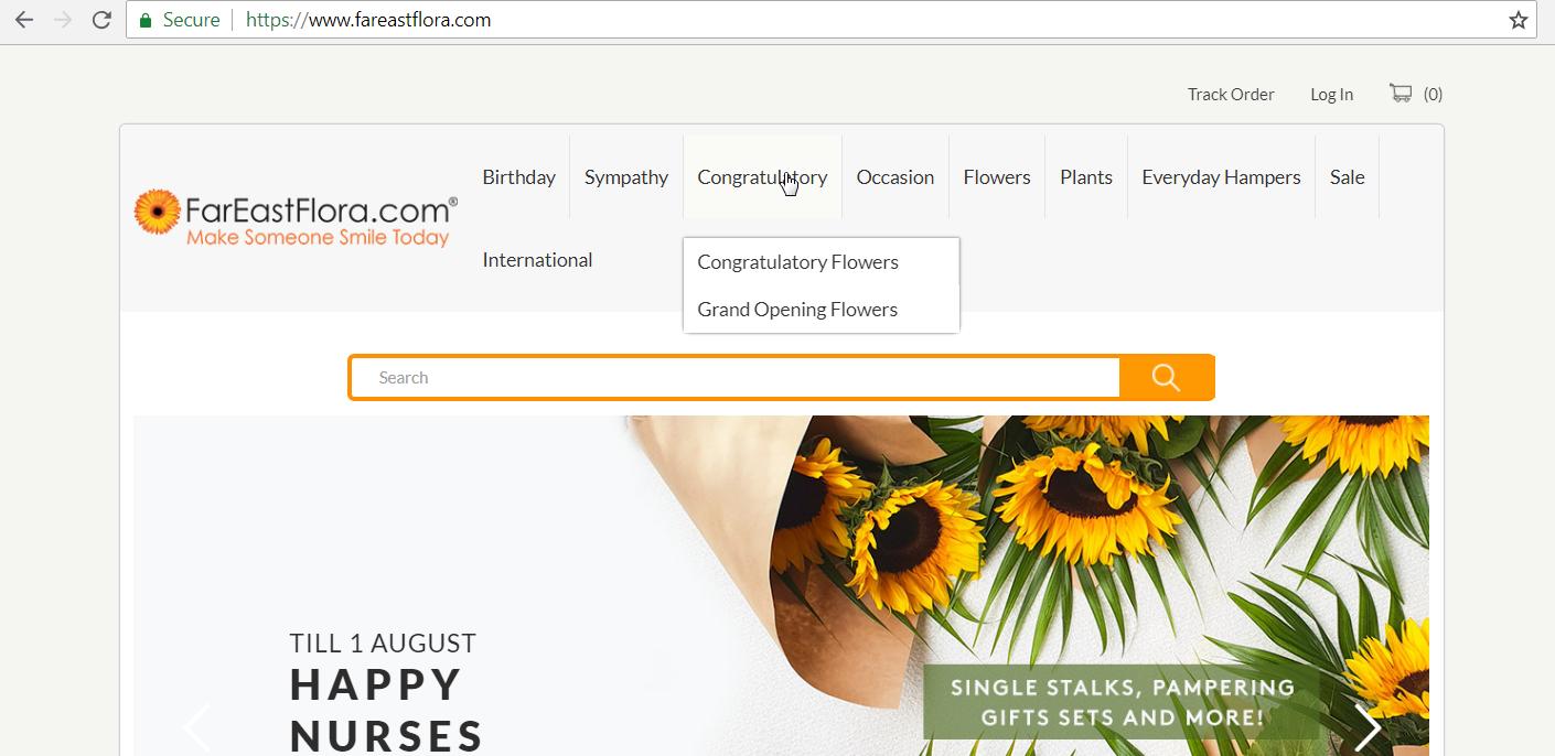 Fareastflora Congratulory