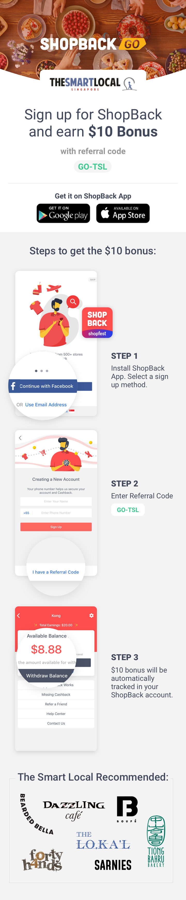 ShopBack GO x The Smart Local