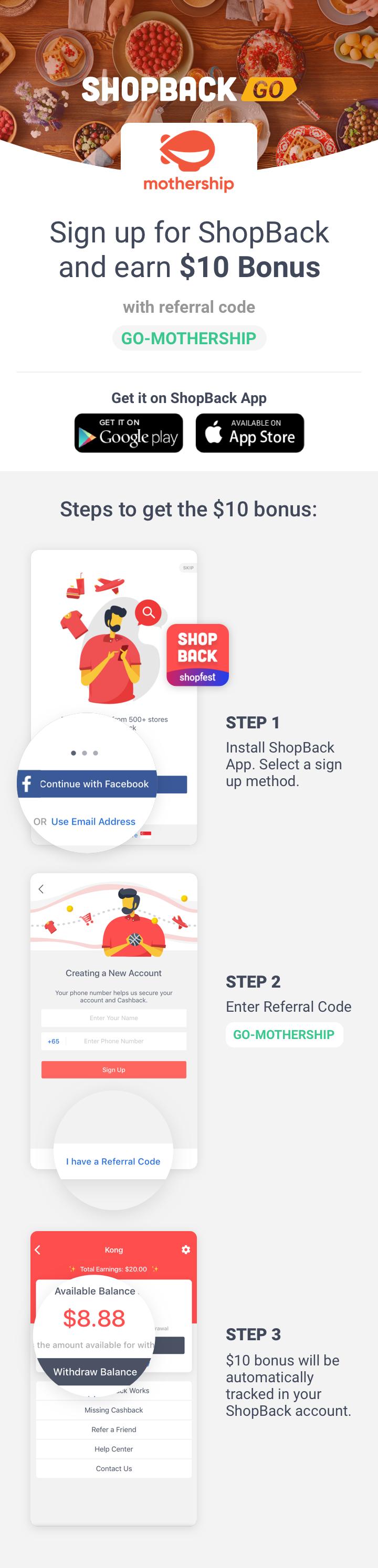 ShopBack GO x Mothership