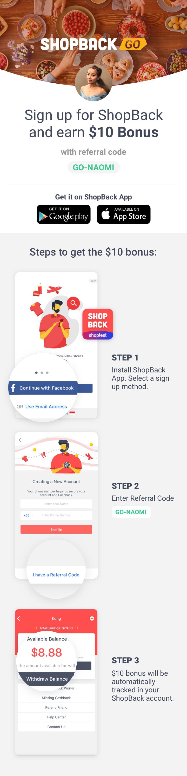 ShopBack GO x Naomi