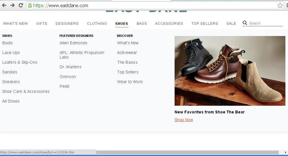 East Dane Shoes