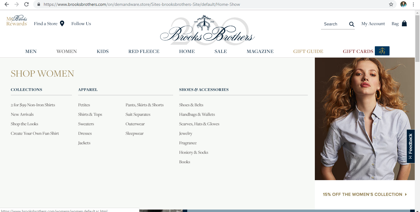 Brooks Brothers Women s Clothing