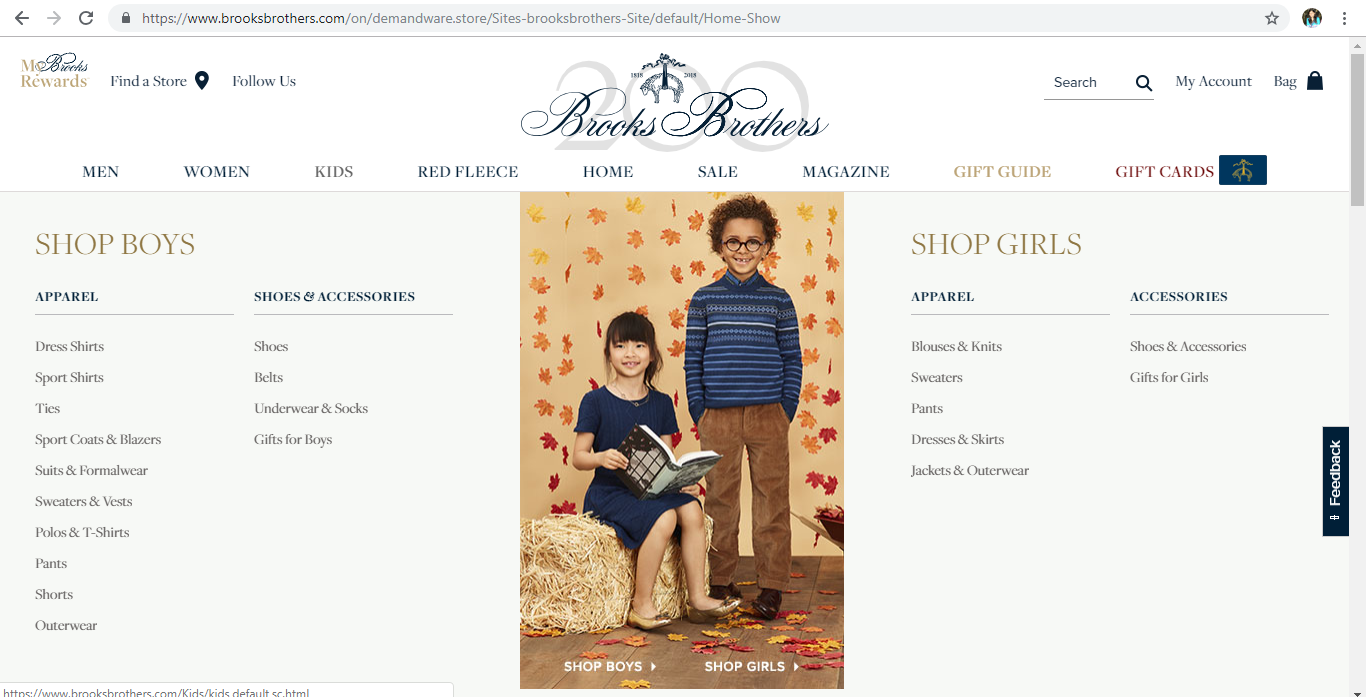 Brooks Brothers Children s Clothing