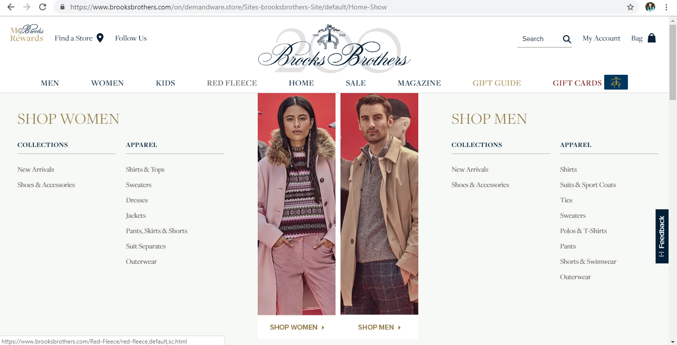 Brooks Brothers Red Fleece Collection