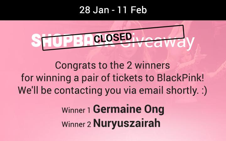ShopBack Giveaway
