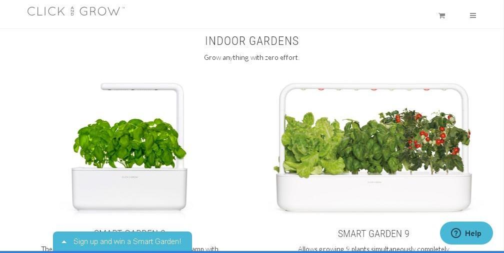 Click and Grow Indoor Gardens