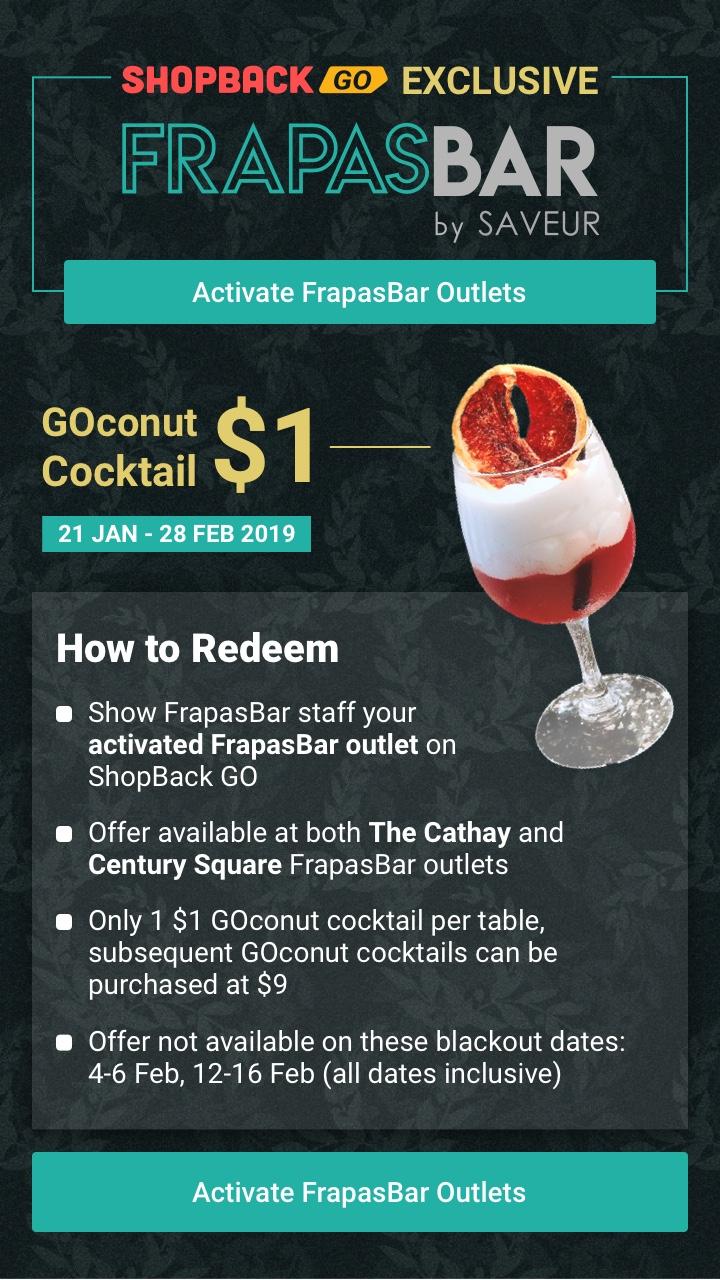 FrapasBar by Savuer $1 GOconut