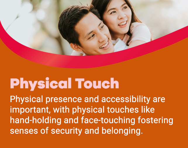 Physical touch