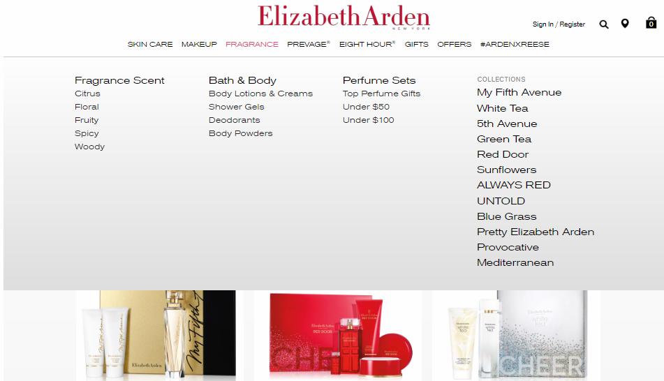 Elizabeth Arden Fragrances