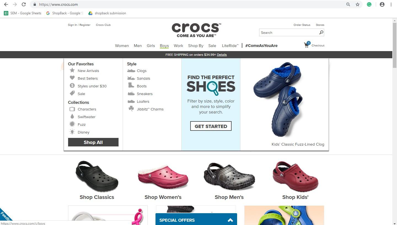 Crocs' Boys