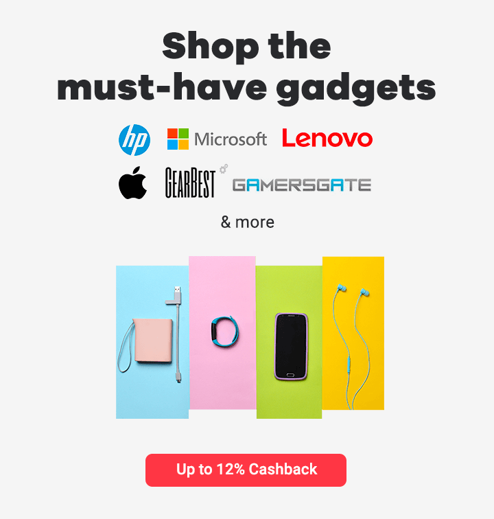 Shop the must-have gadget with Shopback