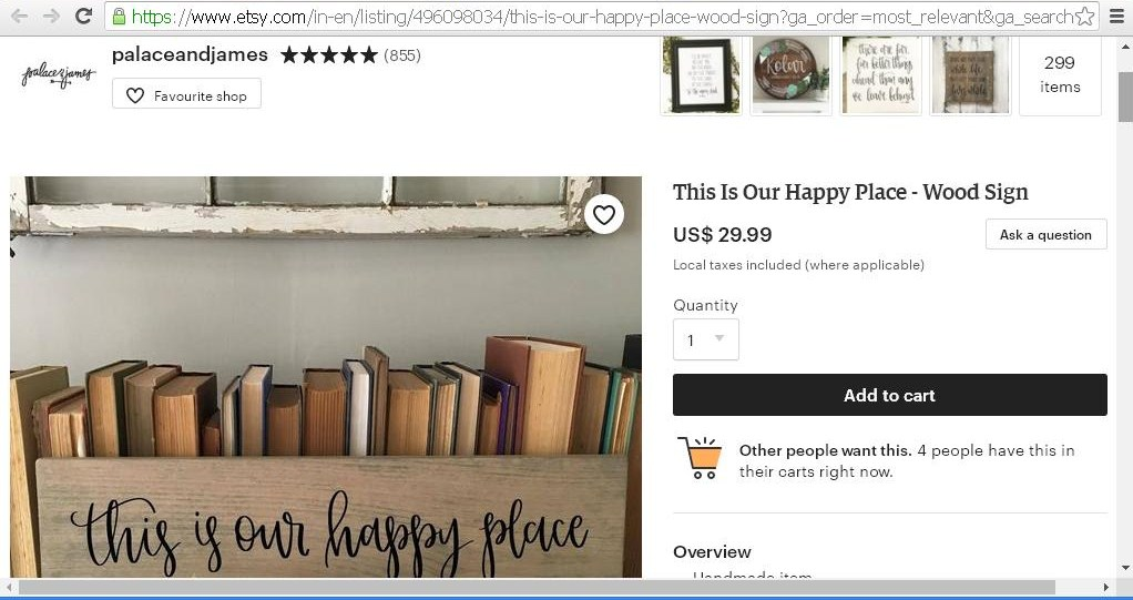 Etsy shope page 4