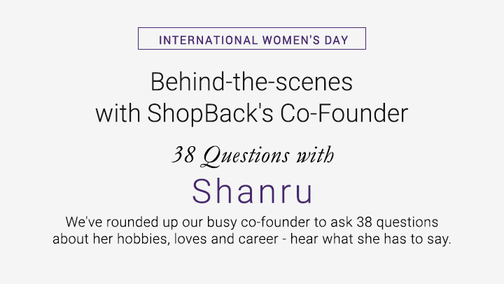 38 Questions with Shanru