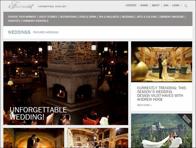 Fairmont Hotels stories