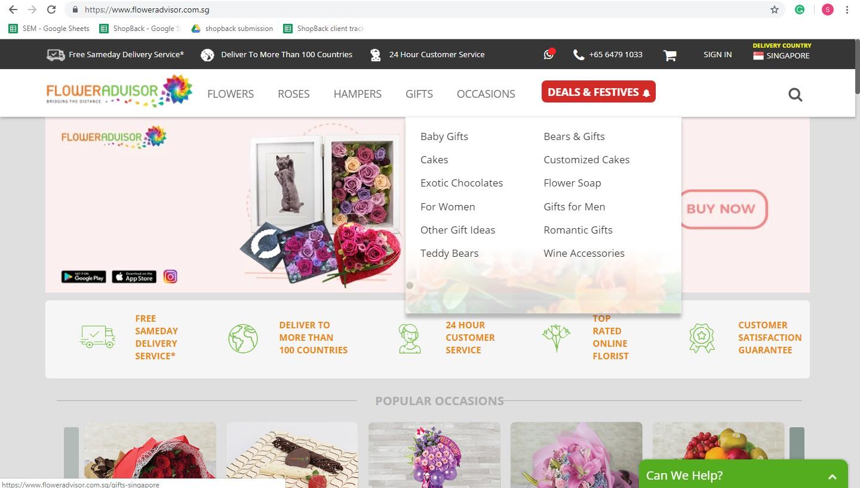 Flower Advisor gifts
