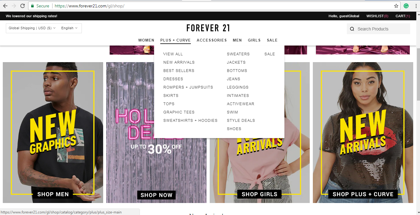 Forever 21 plus size