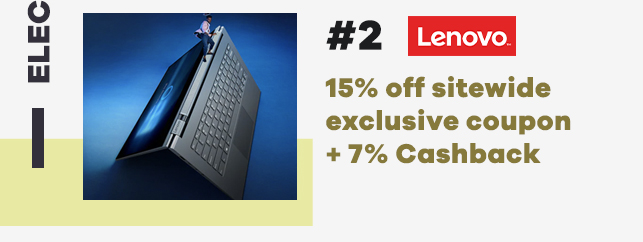 Lenovo 15% off sitewide coupon
