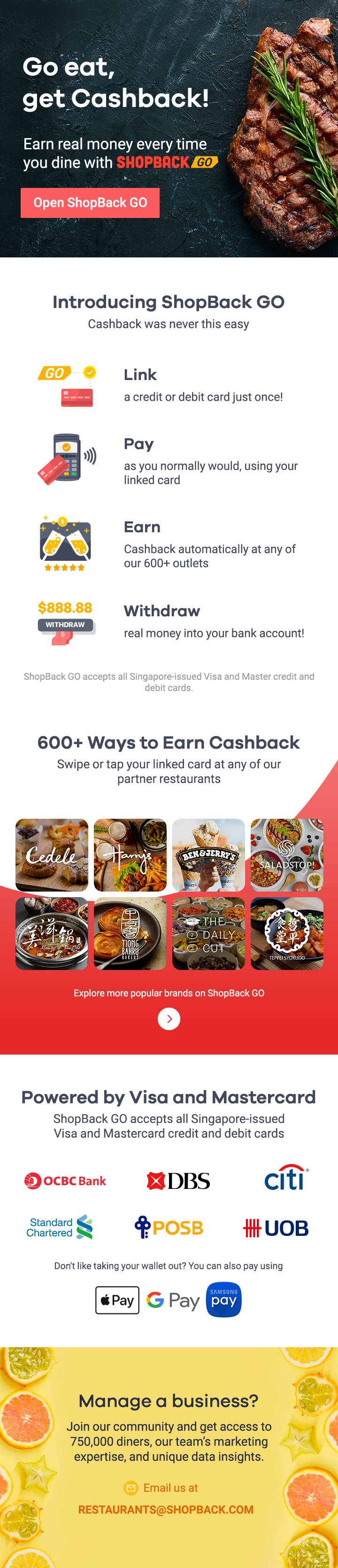 How ShopBack GO Works