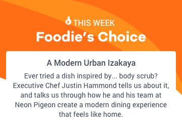 Foodie's Choice - Neon Pigeon