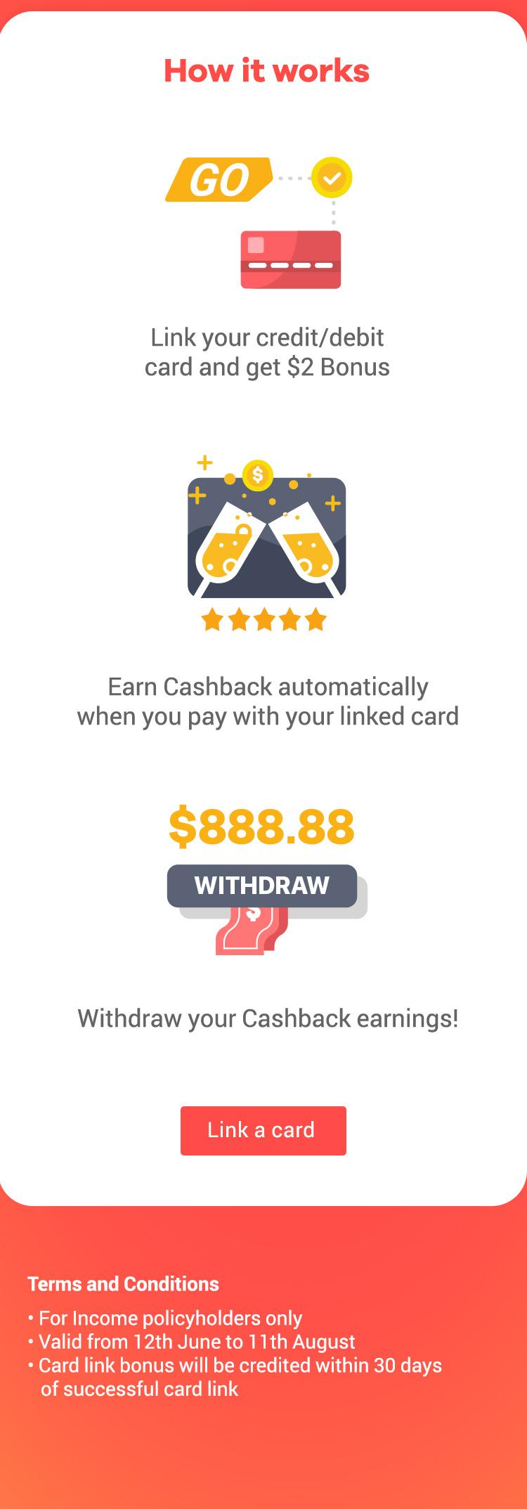 ShopBack GO - Income Shield