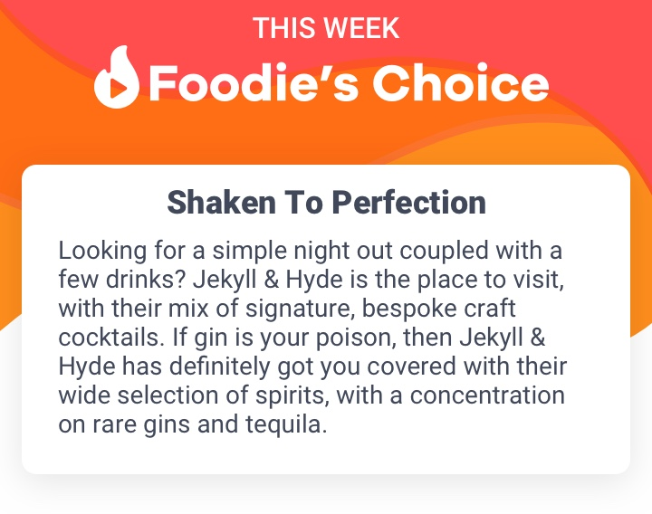 Foodie's Choice - Jekyll & Hyde