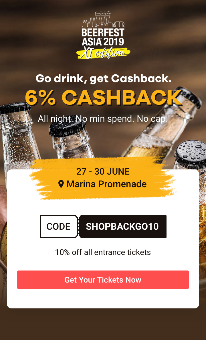 ShopBack Go x BeerFest Asia 2019