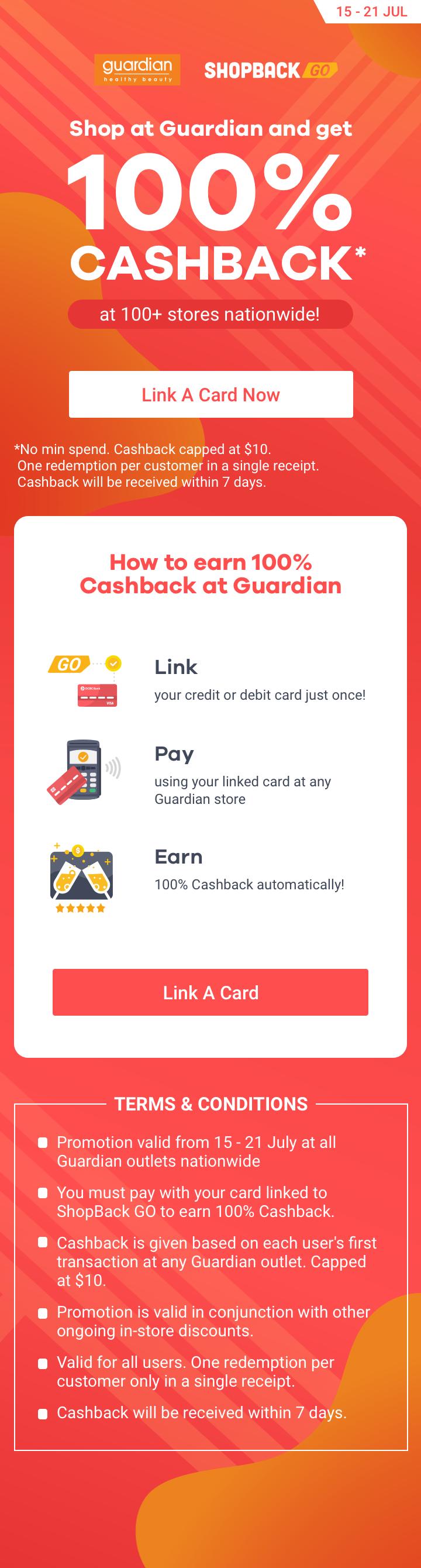 ShopBack GO x Guardian