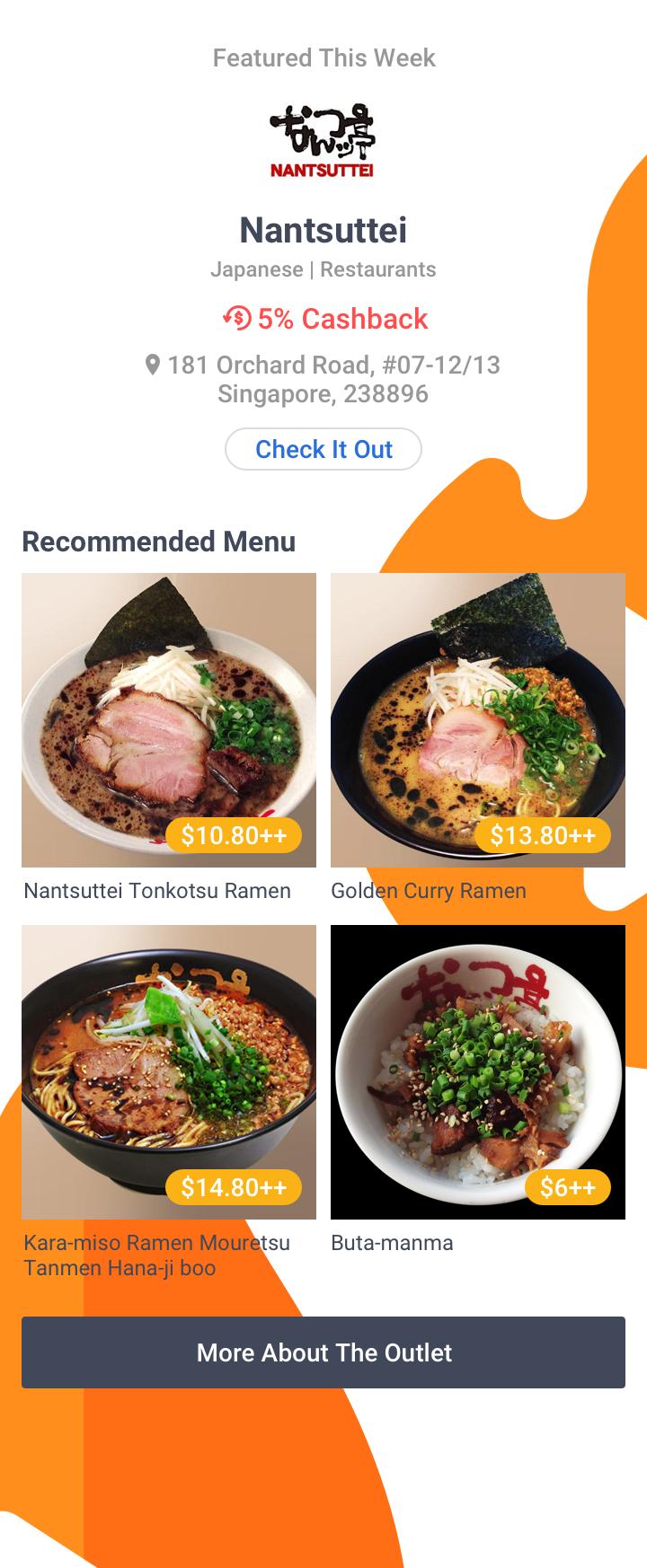 Foodie's Choice - Nantsuttei