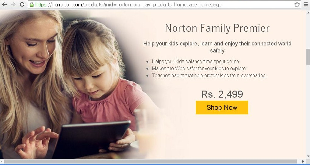 Norton by symantec family