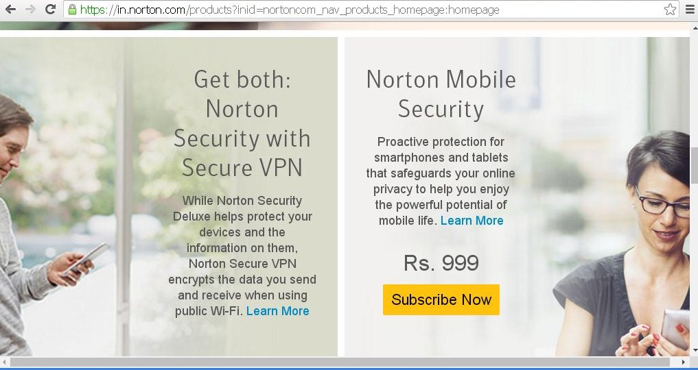 Norton by symantec mobile