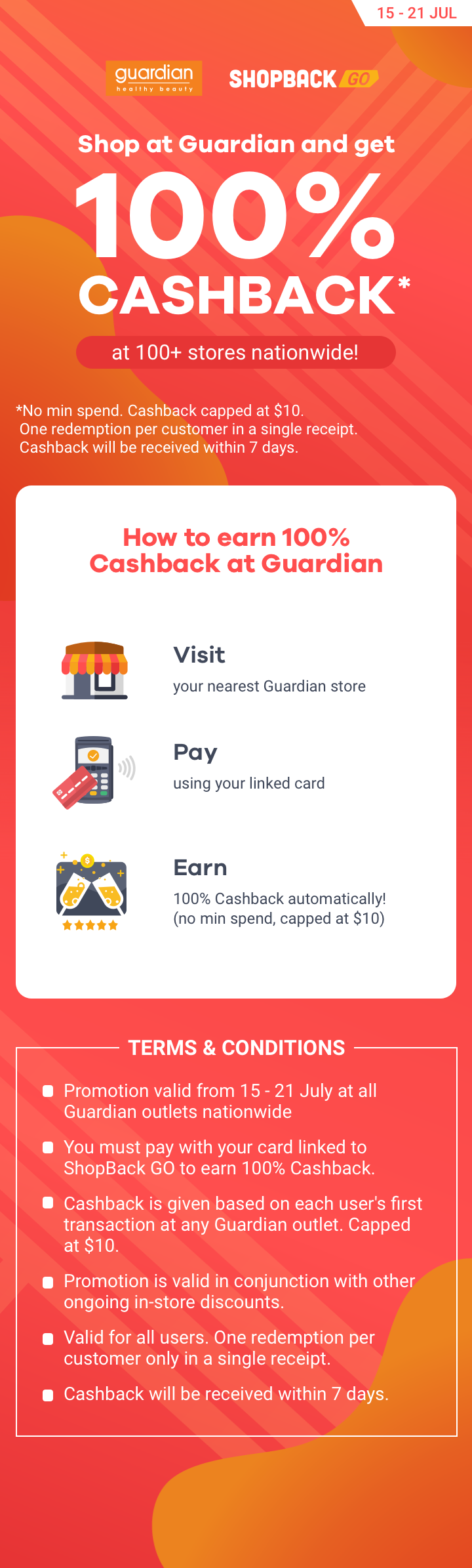 ShopBack GO x Guardian