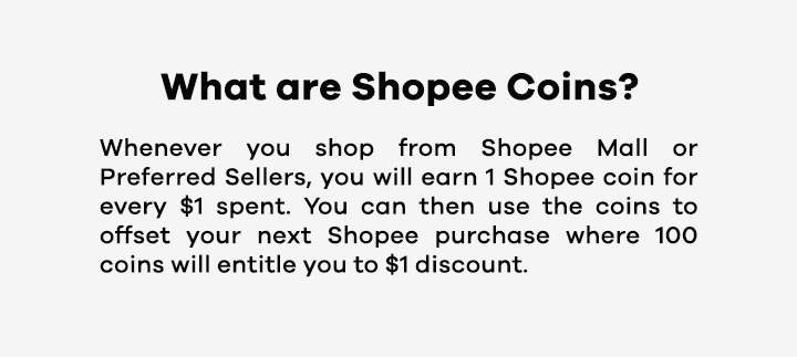 What are Shopee coins?