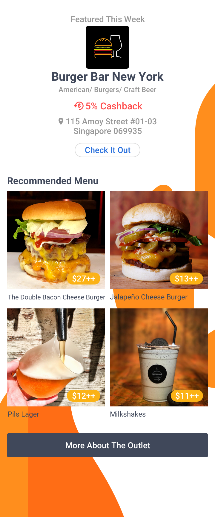 Foodie's Choice - Burger Joint