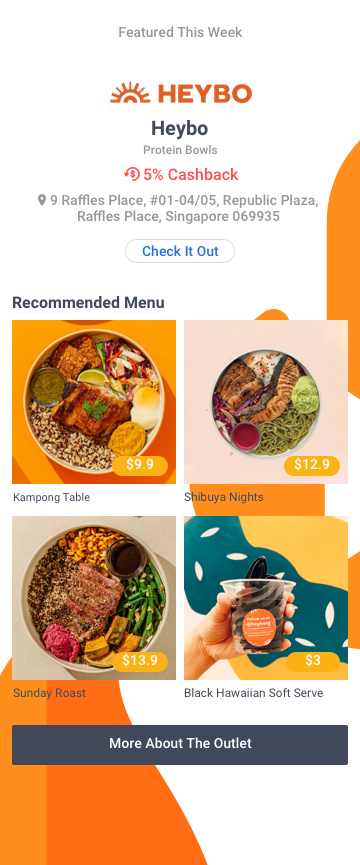 Foodie's Choice - Heybo