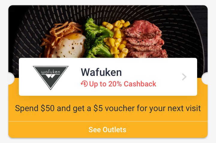 Wafuken - Spend $50 and get a $5 voucher for your next visit