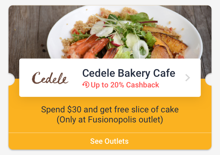 Cedele Bakery Cafe (Fusionopolis)