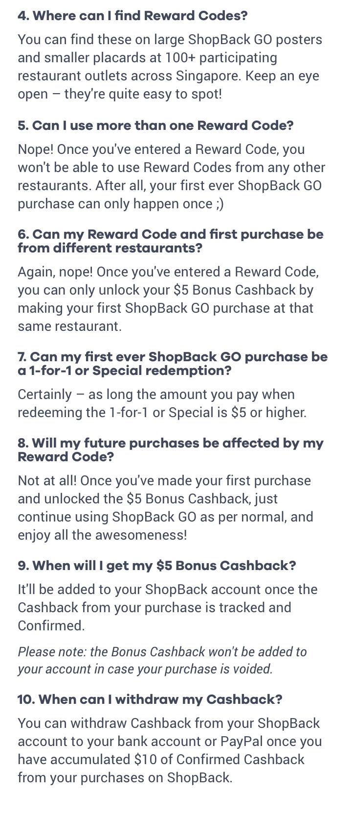 Here's $5 Bonus Cashback!