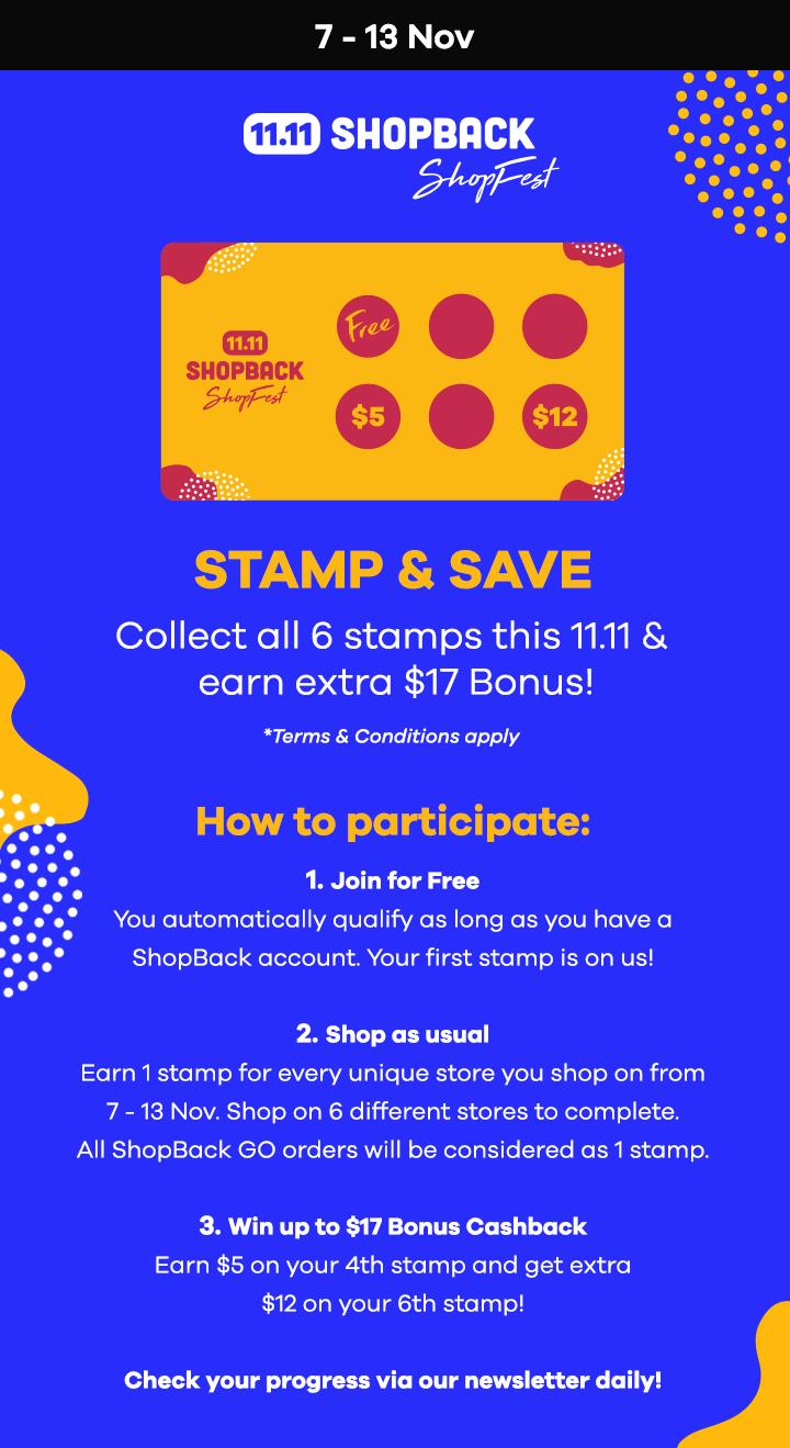 Stamp & Save