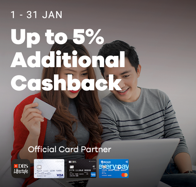 Up to 10% Additional Cashback!