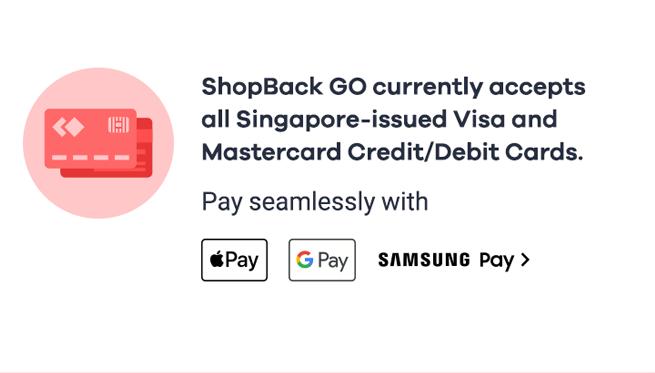 Powered by VISA and Mastercard