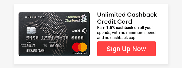 Unlimited Cashback Credit Card