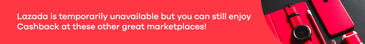 Get Cashback from other marketplaces