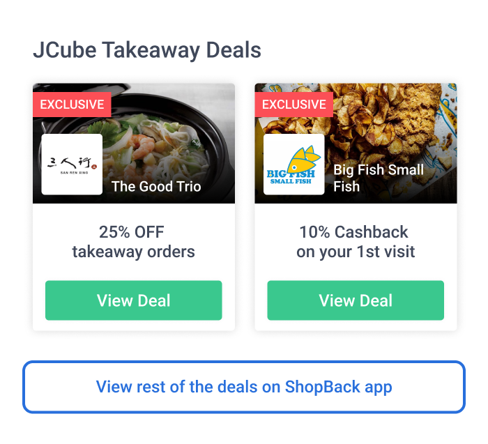ShopBack GO Jurong East Takeaway