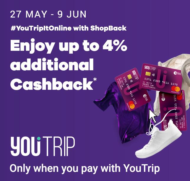 YouTripItOnine with ShopBack