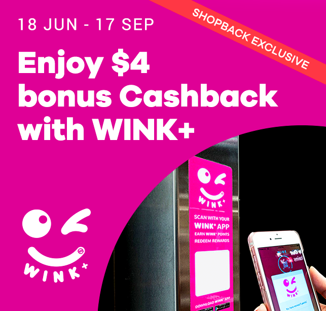 WINK+ ShopBack partnership