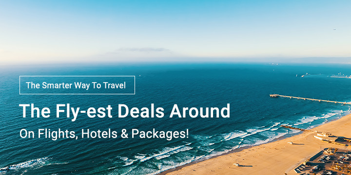 Online Travel Sale - Up to 60% off + Up to 10.5% Upsized Cashback